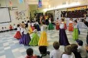 رقص ایرانی در مدرسه آمریکایی