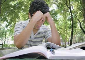 مطالعه دروس در خرداد زماني براي تثبيت يافتهها