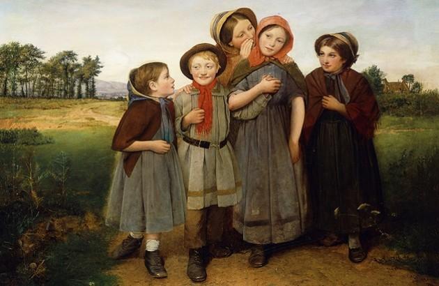 با رازهای کودکان چه باید کرد؟