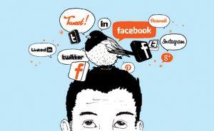 بررسي تأثير شبکههاي اجتماعي در شکلگيري باور آدمهاي امروزي