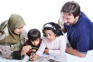 رابطه عاشقانه و محبت آمیز والد فرزندی