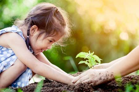 دوستی با طبیعت را با این کارها به کودکان آموزش دهید